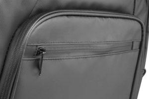 Tarpaulin laptop weekend bag front pocket