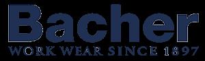 Transparrent Bacher work wear since 1897 refference logo