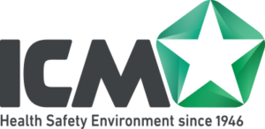 Transparrent ICM Health Safety Enviroment since 1946 logo