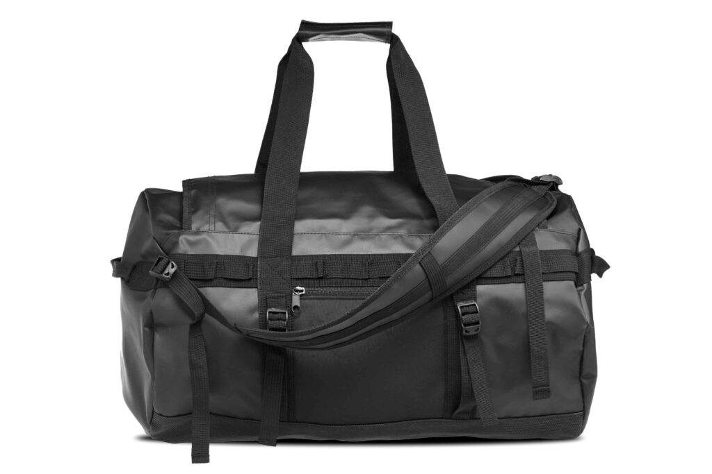 Black north sea offshore duffel bag