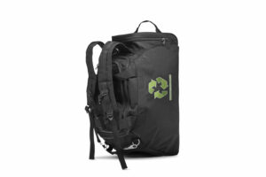Recycled Backpack standing